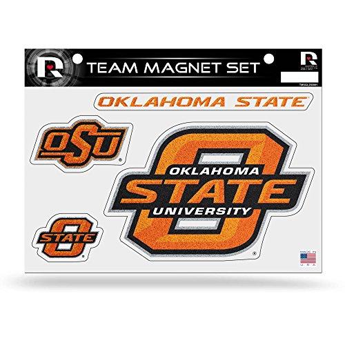 NCAA Oklahoma State Cowboys Bling Team Magnet - Set Sheet State Oklahoma
