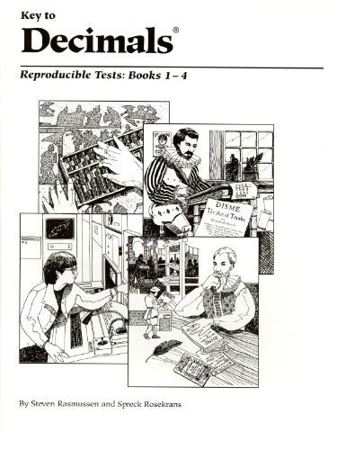 Key to Decimals: Reproducible Tests, Book 1-4 (KEY TO...WORKBOOKS)