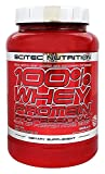 Scitec Nutrition 100% Professional Whey Protein Powder, 2.03LBS, with Extra Added Aminos & Digestive Enzymes, NON-GMO, Mixes Instantly (Lemon Cheesecake)