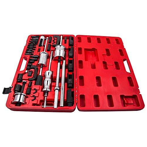 maXpeedingrods 40 Pieces Truck Diesel Injector Extractor Slide Hammer Puller Extractor Complete Set,Universal MASTER Kit by maXpeedingrods (Image #1)