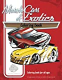 Muscle Car and Exotics coloring book