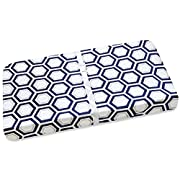 Wendy Bellissimo Changing Pad Cover (Navy/White)