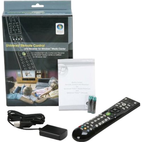 BD2910-Windows Media Center MCE 4-Device Learning Remote Control with IR Receiver