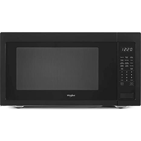 Amazon.com: Whirlpool 2.2 Cu Ft. En color negro de ...