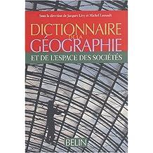 Dictionnaire de géographie et des sciences de l'espace social