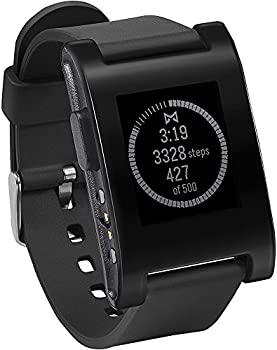 Pebble 1.26'' E-Paper Water Resistant Smartwatch