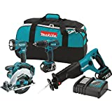 Makita XT406 18-volt LXT Combo Kit, 4-Piece (Discontinued by Manufacturer)