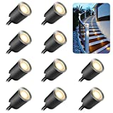 Recessed LED Deck Light Kits with Protecting