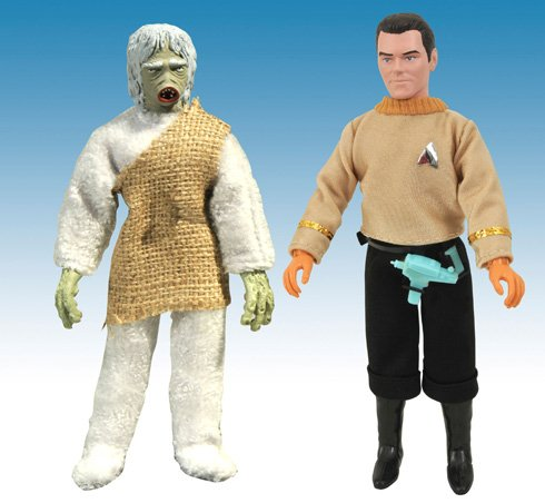 - Star Trek The Original Series Retro Cloth Action Figures Salt Vampire and Captain Pike