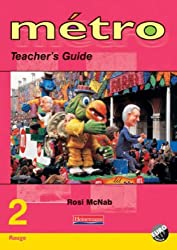Metro 2 Rouge Teacher's Guide Euro Edition (Metro for Key Stage 3)