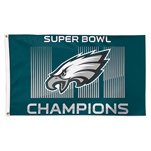 Philadelphia Eagles Super Bowl LII 52 Champions Deluxe Banne