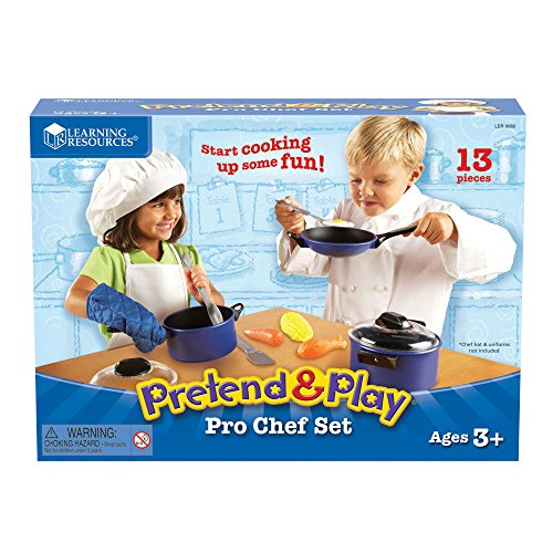Learning Resources Top-Chef Pretend Chef 13 Pieces