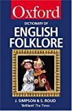 img - for A Dictionary of English Folklore (Oxford Quick Reference) book / textbook / text book