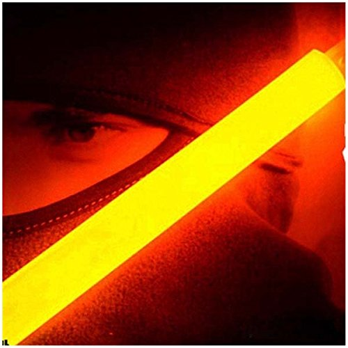 Glow Sticks - TOOGOO(R)Glow Sticks Party Camping Emergency Surival Lights GlowStick Orange