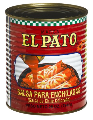 El Pato Enchilada Sauce, Mild, 28-Ounce Container (Pack of 12)