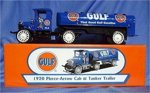 Gulf 1920 Pierce-arrow Cab and Tanker Trailer by ERTL ()