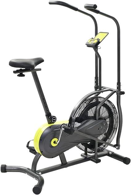 vidaXL Bicicleta Estática de Aire 40cm Fitness Gimnasio Deporte ...