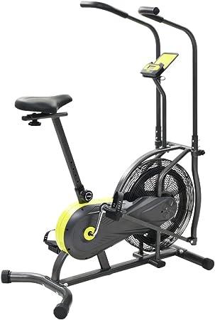 Festnight Bicicleta Estática de Aire Fitness Sillín Ajustable 40 ...