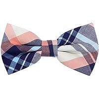 Men's Pre-Tied Bow Tie Adjustable Tuxedo Bowtie for Wedding Party, By OCIA