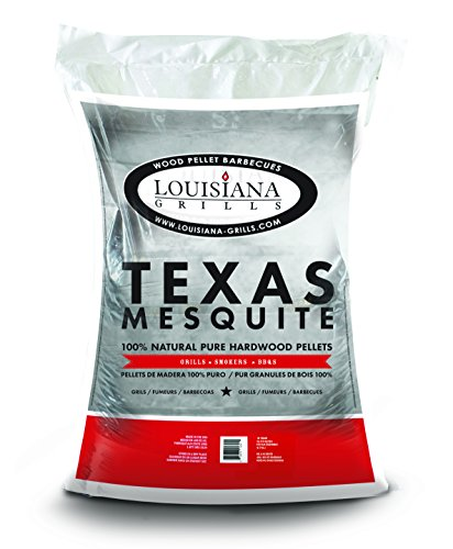 Louisiana Grills 55408 Texas Mesquite Pellets, 40-Pound