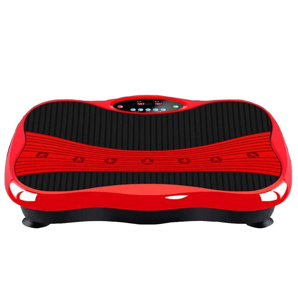 振動マシン 静音 自動的に筋肉鍛錬 マシーン スマート 脂肪燃焼 老害物排出 全身振動マシン USB &Bluetooth接続 音楽プレイヤー機能付  ホワイト B07GT3H3MG