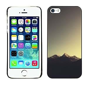 EJOY---Cubierta de la caja de protección la piel dura para el / iPhone 5 / 5S / --Sugerencia Montaña