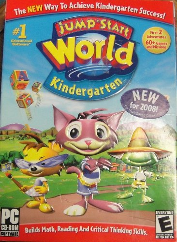 Knowledge Adventure Jumpstart World Kindergarten For PC 20218