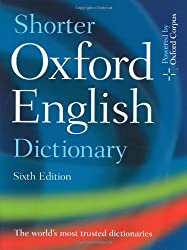 Shorter Oxford English Dictionary en 2 volumes (Edition avec CD-Rom)