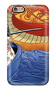 Iphone 6 Case Cover - Slim Fit Tpu Protector Shock Absorbent Case (nico Robin Anime Other)