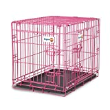 Aspen Pet Puppy 2-Door Training Retreat Crate, 24″, Pink For Sale