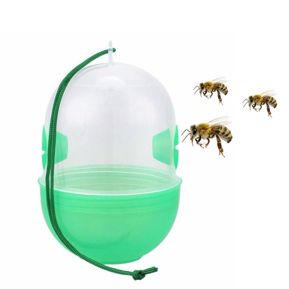 ROKOO Outils extérieurs d'équipement d'apiculture de receveur de mouche de piège de mouche de guêpe pour le frelon d'abeilles de guêpes