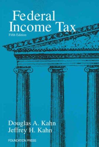 Federal Income Tax, 5th Ed