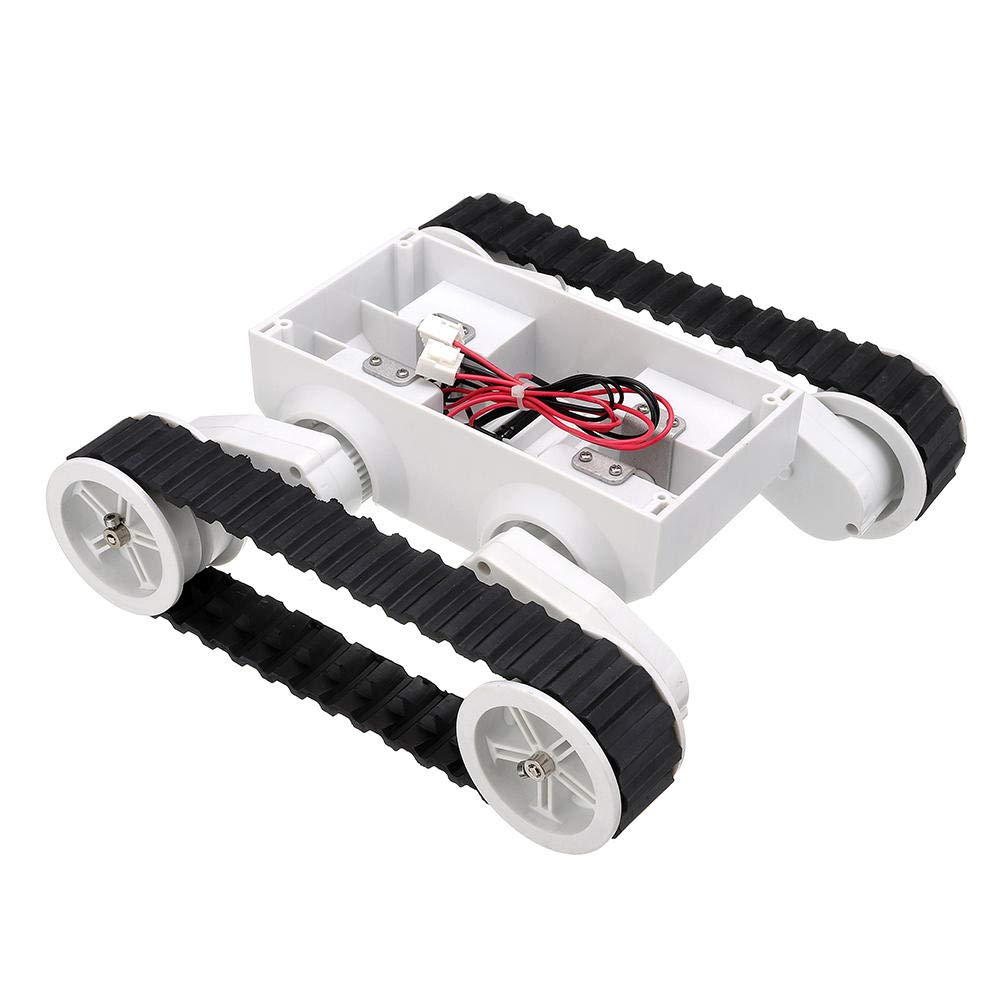 6-12V Smart Robot Crawler Chassis Car Kit with Motor for - Arduino Compatible SCM & DIY Kits Smart Robot & Solar Panel - 1 x 4-Wheel Chassis Arduino Car