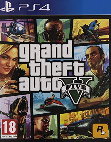 Grand Theft Auto 5 (GTA V) PS4 - PlayStation 4 (Playstation Gta 5)