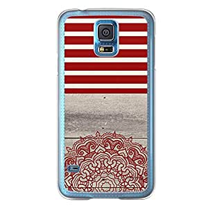 Loud Universe Samsung Galaxy S5 Madala N Marble A 3 Printed Transparent Edge Case - Multi Color