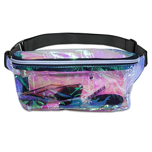 (Stylish Festival Hologram Neon Fanny Pack For Women By)