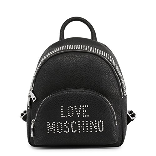 Pu Grain Love Women��s Backpack Borsa Black Moschino Handbag FBFqtwIp