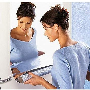Potatogirl Bathroom Decor - Removable 3D Reflection Mirror