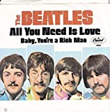 all you need is love / baby, you're a rich man 45 rpm single