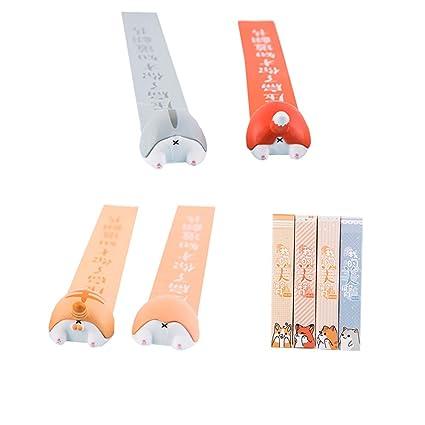 Office & School Supplies New Cute Cat Fox Corgi Hamster Butt Bookmark Paper Pin Stationery School Supplies