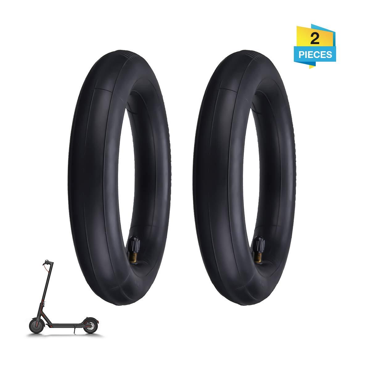 Cámaras de aire, Charminer Tubo interior de doble capa de ruedas de patinete eléctrico Neumático scooter Rueda Cámaras de aire compatible con para ...