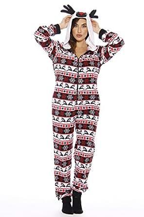 6253 - XS Just Love Adult Onesie / Pajamas, Reindeer New, X - Small