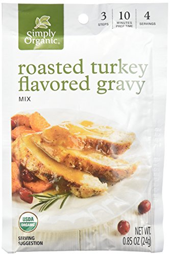 (SIMPLY ORGANIC MIX GRAVY RSTD TURKEY ORG)