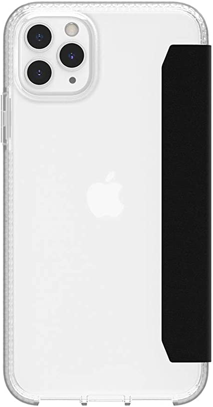 Griffin Survivor Clear Wallet Case Hülle Nach Militärstandard Apple Iphone 11 Pro Max 6 5 Qi Kompatible Handyhülle I Kartenfächer I Stoßdämpfende Ecken Schwarz Transparent Elektronik