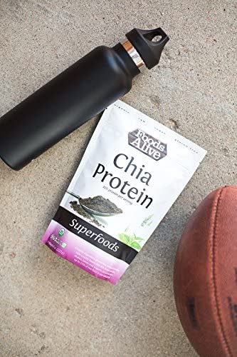 Chia Protein Powder, Organic, 8oz Single Pack