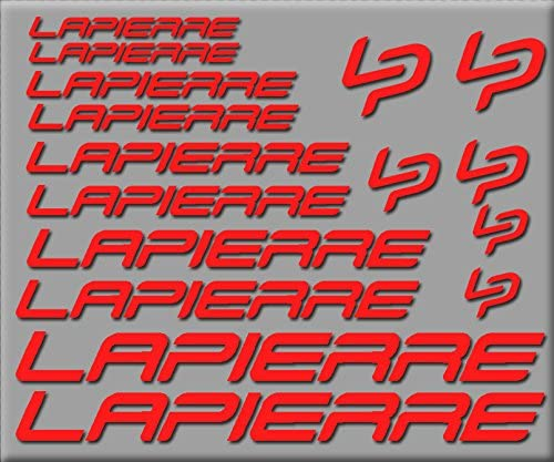 Ecoshirt EA-Q59N-HPF3 Pegatinas Lapierre R251 Stickers Aufkleber ...
