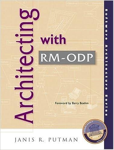 Architecting With Rm-odp por Janis R. Putman epub