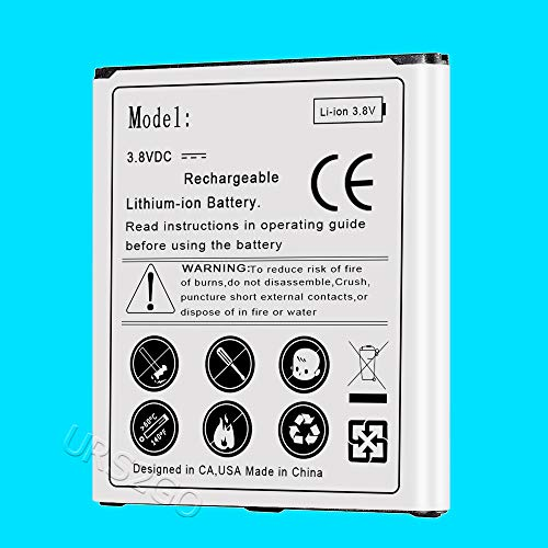 - Power 3500mAh Extended Slim Replacement Battery for Cricket Samsung Galaxy Amp Prime SM-J320A Smartphone