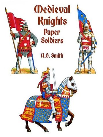 Medieval Knights Paper Soldiers (Models & Toys)