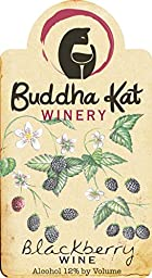 NV Buddha Kat Winery Blackberry Wine 750 mL